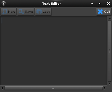 Text Editor application